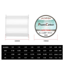 500M Fluorocarbon fishing line 5-30LB Super strong brand Main Line clear fly fishing line pesca