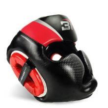 Boxing Helmet Muay Thai PU Leather Training Sparring Boxing Headgear Gym Equipment Taekwondo Head Guard