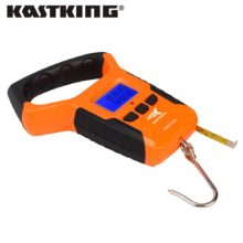KastKing Portable Water Resistant Digital Scale with Tape Measure with Built-in LCD light Read from 0-110 lbs or 0-50 kg
