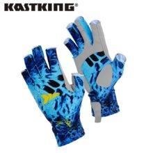 KastKing Fishing Gloves SPF 50 Sun Men Hands Protection Gloves Breathable