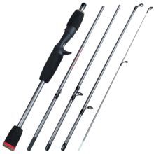 5 Section Portable Travel Fishing Rod