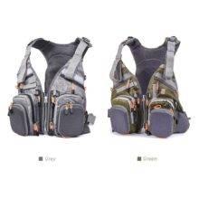 Multifunctional Fishing Vest  life jacket Backpack Outdoor Bag Water Reservoir Bag Multi-purpose Backpack + Life Jacket + Vest