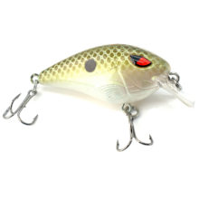 55mm 9g Bass Fishing Crankbait Shallow Diving Round Bill Crankbaits Artificial Hard Bait for For Crappie, Walleye and Bass