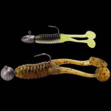 Swimming Double Paddle Tail Soft Baits Swimbaits Soft Fishing Lures