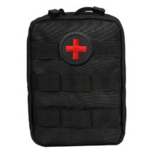 103Pcs/Pack First Aid Kit Outdoor Wilderness Black Mini First Aid Pouch Medical Bag Military First Aid Kits Survival Kit Hiking
