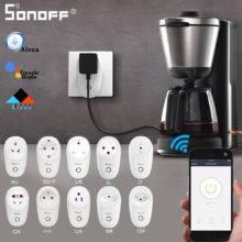 SONOFF S26 Mini Smart Plug Wifi Remote Control Power Socket Switch Timer