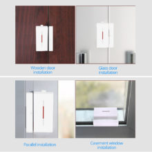SONOFF DW1 433Mhz WIFI Door Window Alarm Sensor Magnetic Wireless Detector Support RF Bridge Control Smart Home Security System