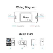 SONOFF RFR3 R3 RF Light Switch DIY WIFI Wireless 433MHZ Remote Control LAN eWelink APP