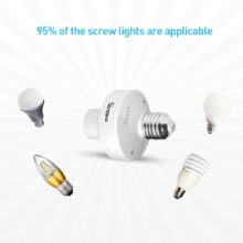 Sonoff Slampher 433Mhz RF Light E27 Bulbs Holder Wireless for Smart Home Wireless Remote Control 2A 400W