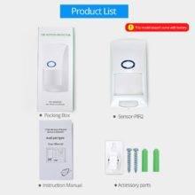 SONOFF PIR2 RF PIR Motion Sensor Detector 433Mhz Wifi Wireless Remote Entry Alarm Security System Anti Theft Smart Home Alexa