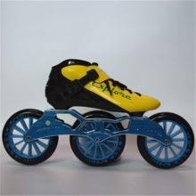Speed Inline Skates Carbon Fiber Competition Skate