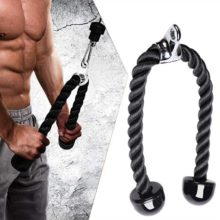 Cable Machine Attachments Tricep Rope D-Handle Cable Pully Optional for Gym Fitness Equipment Weight Lifting Workout Accessories