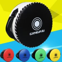 PU Boxing Shield Target Big Sanda Round Heavy Fighting Training Chest Protection Target Taekwondo Foot Punching Curve Focus Pads