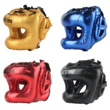 Professional Adult men women Kick boxing sanda mma helmet full protection to protect nose free combat beam full-face head gear
