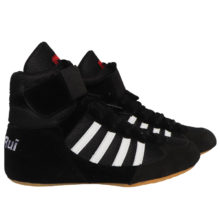 Boxing Wrestling Shoes Rubber Outsole Breathable Combat Sneakers