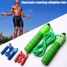 Jump Ropes with Counter Sports Fitness Adjustable Fast Speed Counting Jump Skip Rope Skipping Wire ASD88