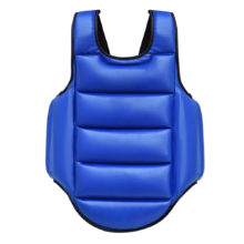 Chest Guard Boxing MMA Kickboxing Body Protector Martial Arts WTF Reversible Rib Shield Armour Taekwondo Target Training Uniform