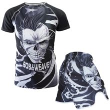 Skull MMA shorts boxing sport training pants Boxing Short muay thai  boxeo thai kickboxing bjj