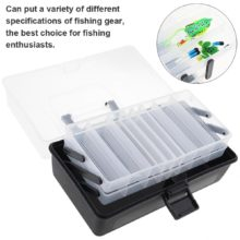 Fishing Plastic Tackle Box Multifunctional