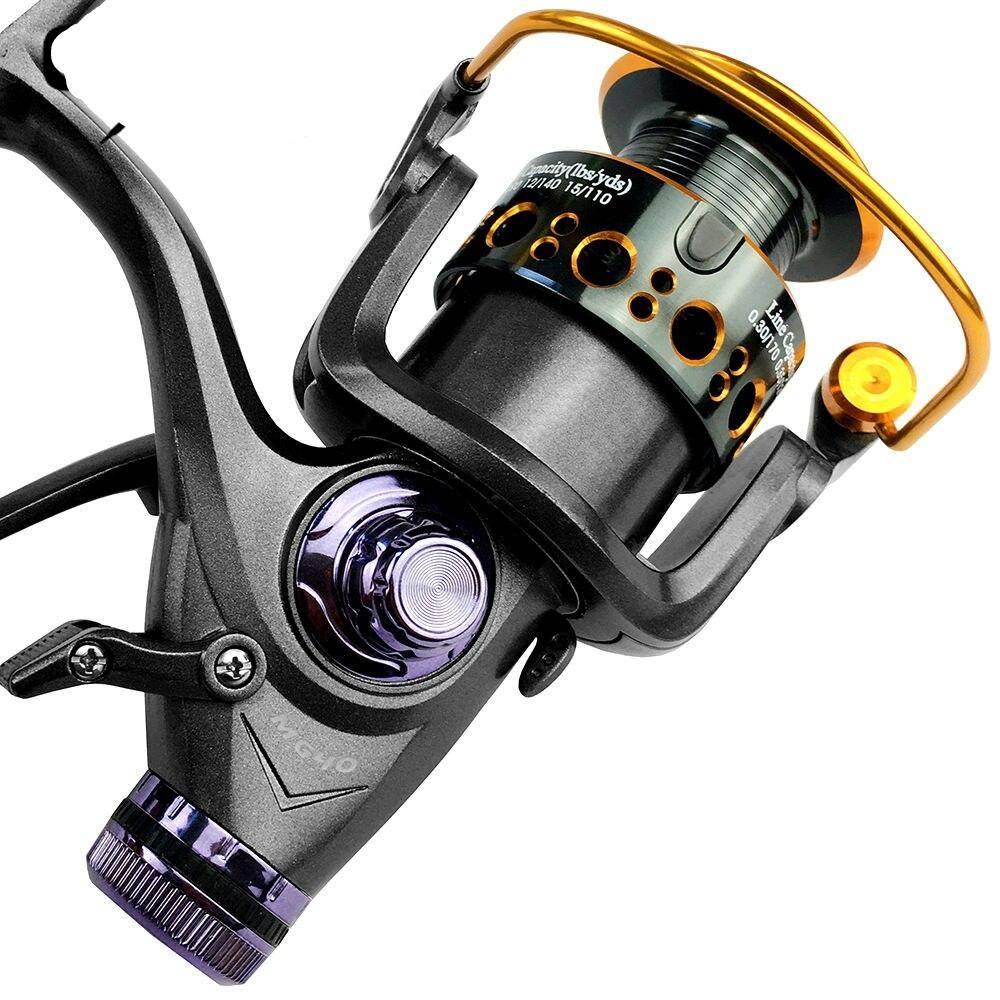 Fish Bait Camping Fishing Tool Spool Gear Ratio Spinning Fishing Reel All Metal